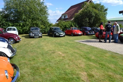 Fahrzeuge beim Kundentreffen 2012