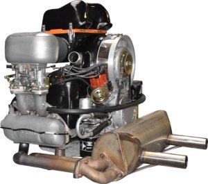 KLAUS-Motor Seitenansicht