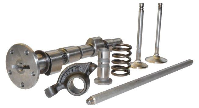 Komponenten des Ventiltriebs