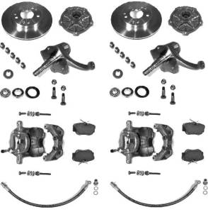 KLAUS-Bremsanlage für den großen Fünflochkreis (205 mm)