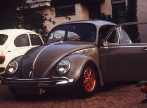 1967 Käfer mit Baby Fuchs Felgen