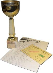 Sieger beim Käferblasen 1981