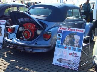1303 Cabrio mit 2,4 l Motor beim Maikäfertreffen in Hannover