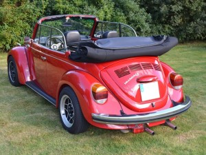 1303 Cabrio, fotografiert 2012 beim Kundentreffen in Neuenkirchen