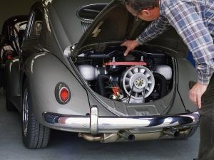 VW Kaefer Ovali mit KLAUS Typ 4 Motor
