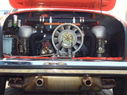 Motorraumelektrik im Karmann Ghia