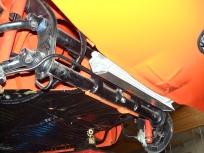 Schacht für den Ölkühler am Karmann