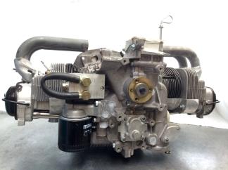 Rumpfmotor für einen Porsche 914/4, Ansicht von der Riemenscheibe