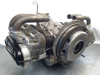 Rumpfmotor für einen Porsche 914/4, Ansicht von der Schwungradseite