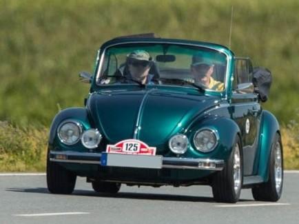 1303 Cabrio im sportlichen Einsatz