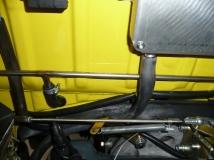 Verlegung der Benzinleitung im 1303 Motorraum
